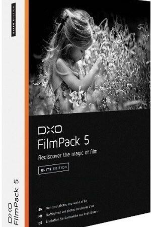 DxO FilmPack Crack 5.5.27 Build 605 Elite [2022]