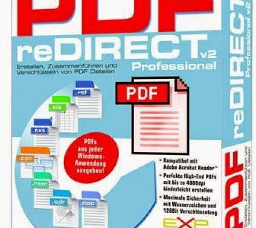 PDF Redirect Pro Crack 2.5.2 Registration Key Latest [2021]